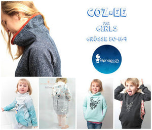 "eBook - ""Coz*ee Girls"" - Pullover -  NipNaps - Glückpunkt."