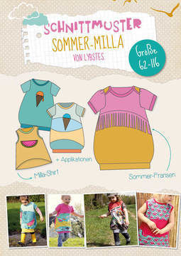 "eBook - ""Sommer Milla"" - Shirt/Kleid - Lybstes - Glückpunkt."