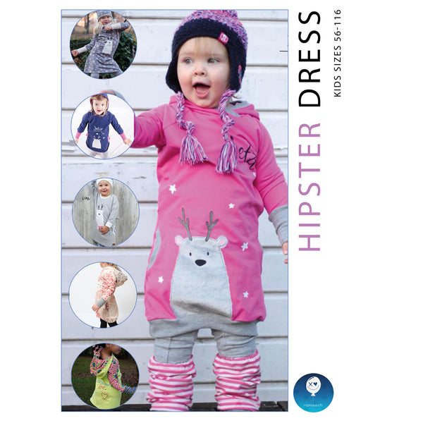 "eBook - ""Hipster Dress"" - Kleid -  NipNaps"