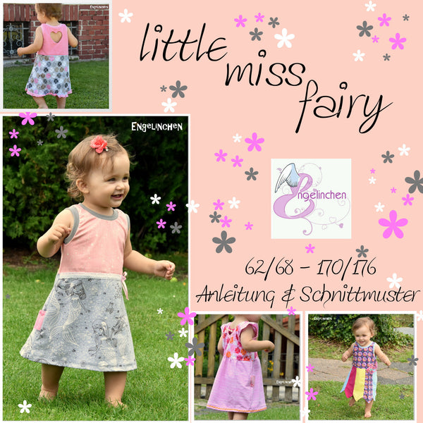 "eBook - ""little miss fairy"" - Kleid  -  Engelinchen Design"