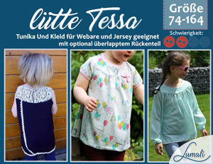 "eBook - ""Tessa Girly"" - Shirt/Tunika/Kleid - Lumali - Glückpunkt."