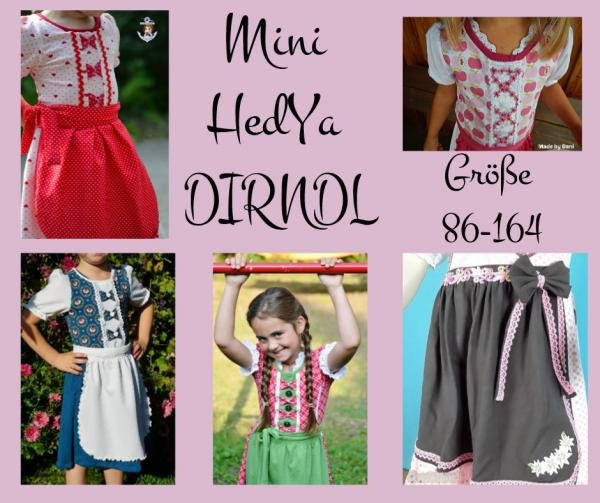 "eBook - ""HedYa Dirndl Kinder"" - Kleid - Kreativhund"