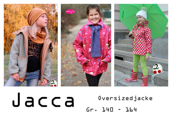 "eBook - ""Jacca Teens"" - Oversizedjacke- Elfriede und Fridolin"