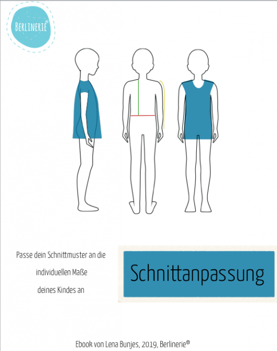 "eBook - ""Schnittmusteranpassung Kinder"" - Berlinerie"