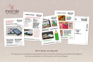"eBook - ""Schutztasche für Tablets, Handys oder Laptop"" - Shesmile, Do it yourself"