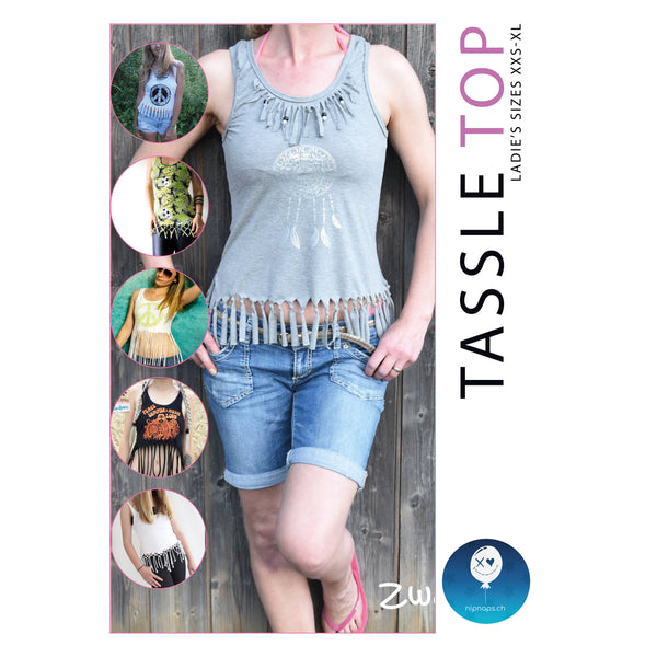 "eBook - ""Tassle Top"" - Top -  NipNaps"