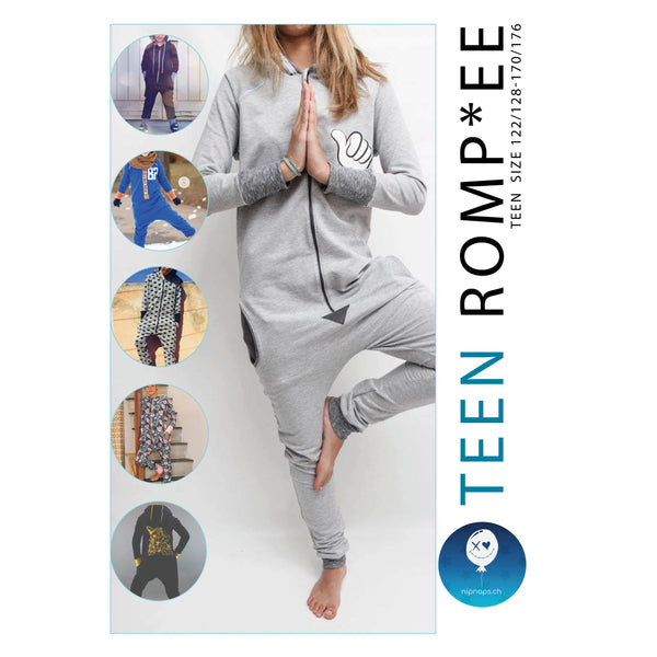 "eBook - ""Teen Romp*ee"" - Jumpsuit -  NipNaps"