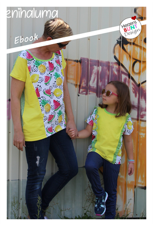 "eBook - ""Lemonade"" - Shirt -  Herzensbunt Design"