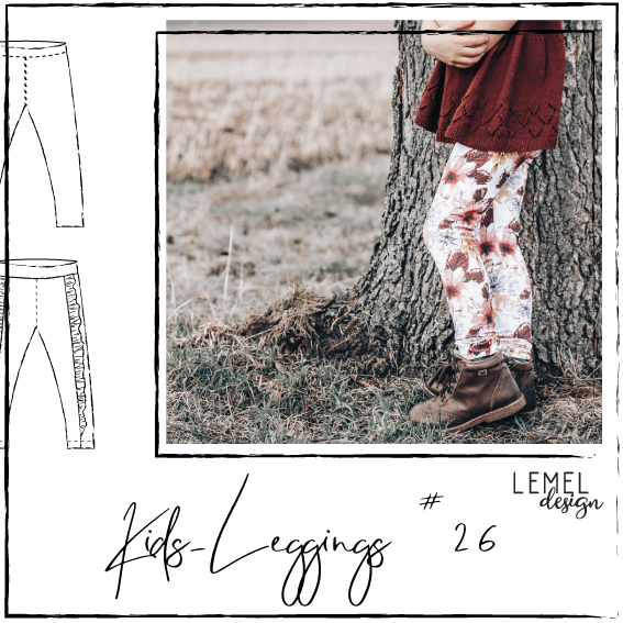 "eBook - ""Kids Leggings #26"" - Hose - Lemel Design"