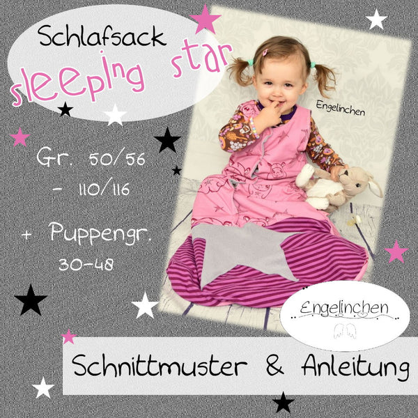 "eBook - ""Sleeping Star"" - Schlafsack - Baby - Kinder - Puppen - Engelinchen Design"