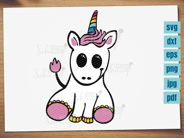 "Plotterdatei - ""Unicorn Baby"" - Schana Design"