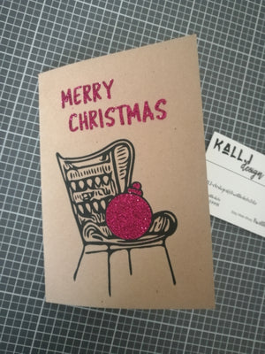 "Plotterdatei - ""x-mas Chair"" - Kall.i-Design"