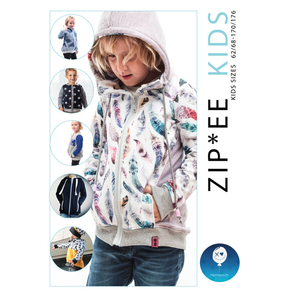 "eBook - ""Zip*ee"" - Jacke - NipNaps"
