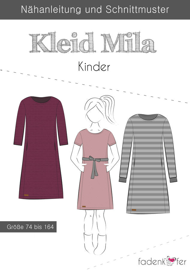 eBook Kleid Mila Damen