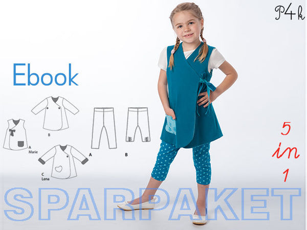 "Kombi-eBook - Tunika ""Marie"" & Leggings Bibi - Pattern4kids"
