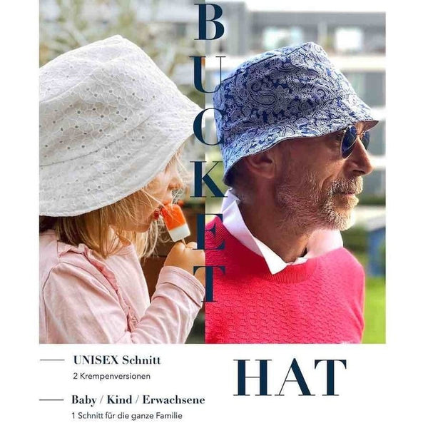 "eBook - ""Bucket Hat"" - Fischerhut - Sara & Julez"