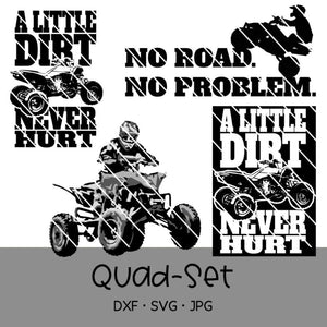 "Plotterdatei - ""Quad/ATV-Set"" - Oma Plott"