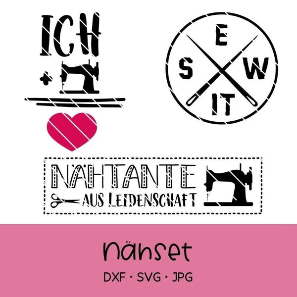 "Plotterdatei - ""Nähen Set"" - Oma Plott"
