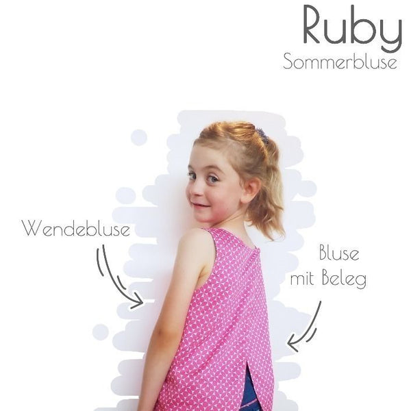 "eBook - ""Ruby"" - Sommerbluse - Piechens"