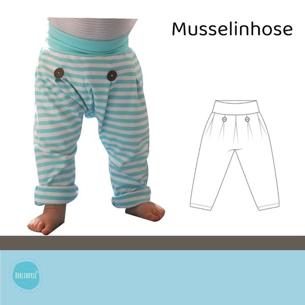 "eBook - ""Musselinhose"" - Hose - Berlinerie"