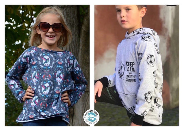 "eBook - ""Rag'n'Bone Kids"" - Pullover - Follow Me Design"