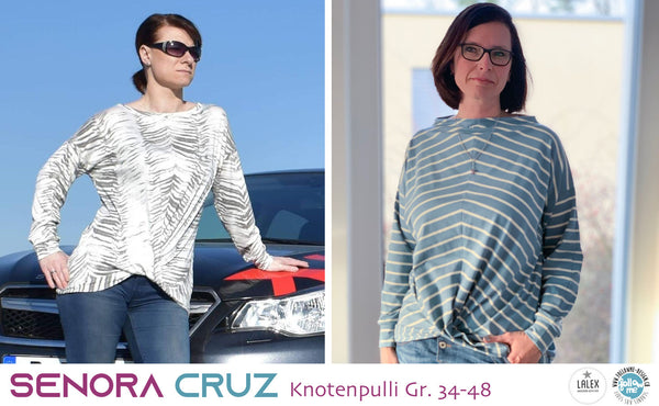 "eBook - ""Senora CRUZ"" - Pullover - Follow Me Design"