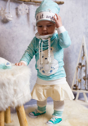 "Kombi-eBook - ""Winterzeit Loopy & Linus Kids""  Pullover - Mini & Me Patterns"