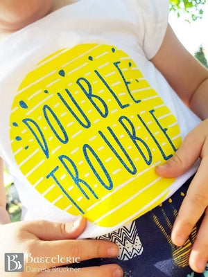 "Freebook-Plotterdatei - ""Doubletrouble "" - From Heart to Needle"