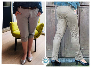 "eBook - ""Norma Jill - Tapered Fit Pant"" - Hose - Follow Me Design"