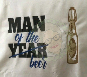 "Plotterdatei - ""Man of the beer"" - Oma Plott"
