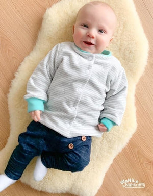 "eBook - ""Diamond Baby Cardigan"" - Jacke- Engelinchen Design"