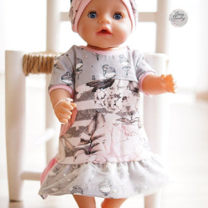"eBook - ""Dress up your Baby Doll Vol.3"" - Puppenkleidung -  Zwergnase Design"