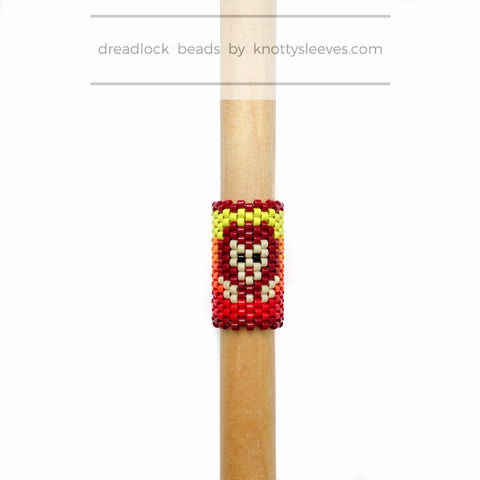 Lion Dread Bead - Knottysleeves Dread Beads and Dreadlock Accessories