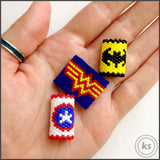 Captain America Dread Bead
