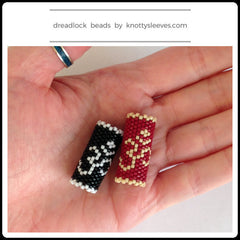 Om Symbol Dread Bead - Knottysleeves Dread Beads and Dreadlock Accessories