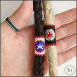 Dread Bead Set - Captain America and Winter Soldier