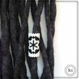Star Wars Imperial Insignia Dread Bead - Knottysleeves Dread Beads and Dreadlock Accessories