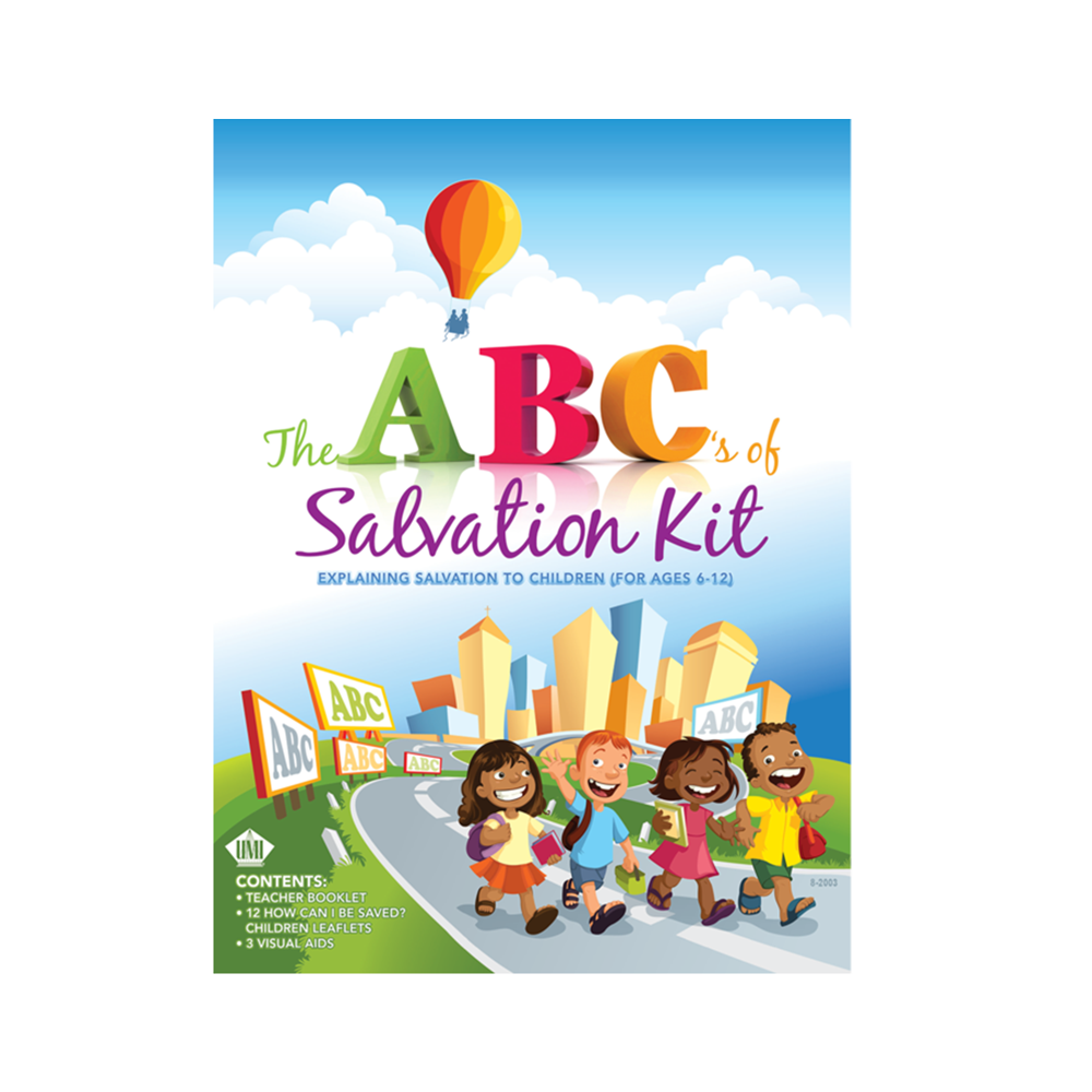 The ABC's Of Salvation Refills (Pack of 12)