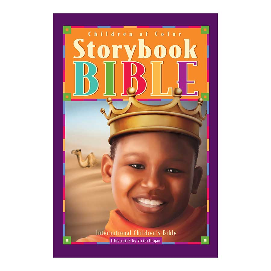 Children Of Color Storybook Bible (Boy w/Crown)