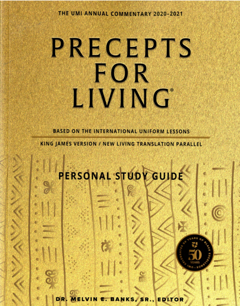 Precepts For Living Personal Study Guide 2020-2021