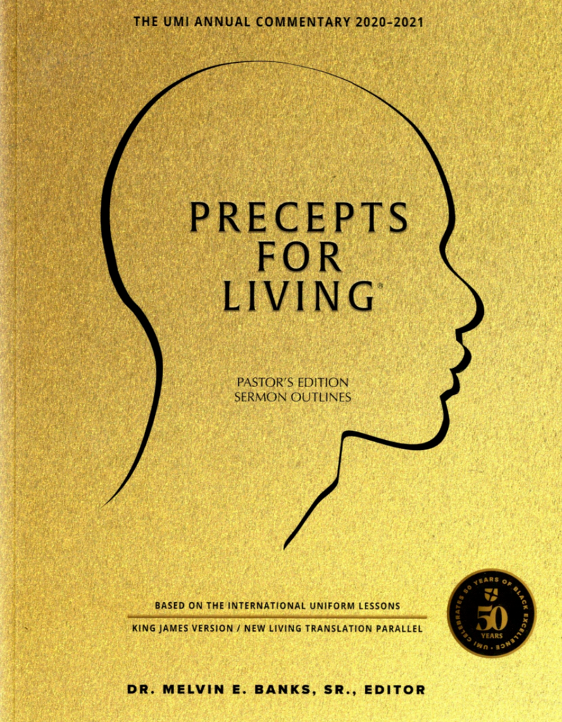 Precepts For Living Pastor's Edition 2020-2021