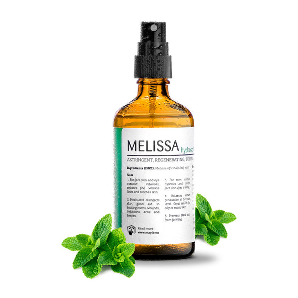 Mayie - food for skin - apa de melissa 100% pura, 100% naturala