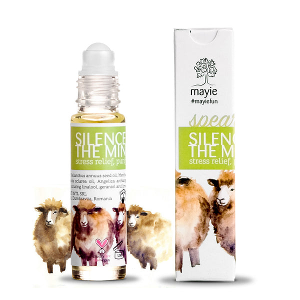 Silence of the Mint, Roll-on Mentă, #mayiefun, 10ml