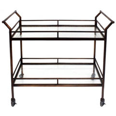 Drinks Trolley Bronze 2 Level