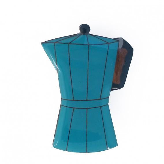 Brooch Coffee Pot