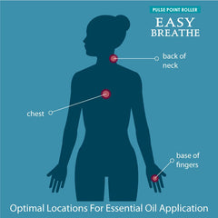 Essential Oil Pulse Point Roller Easy Breathe
