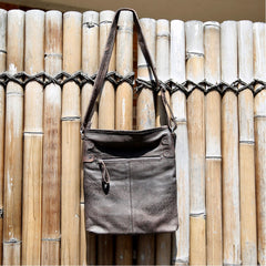 Handbag Cindy G Leather