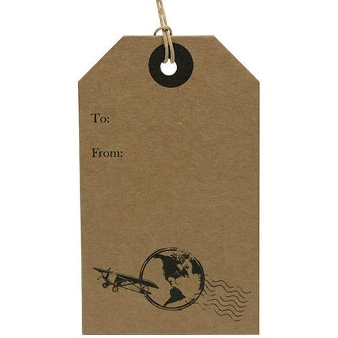 Card Gift Luggage Tag