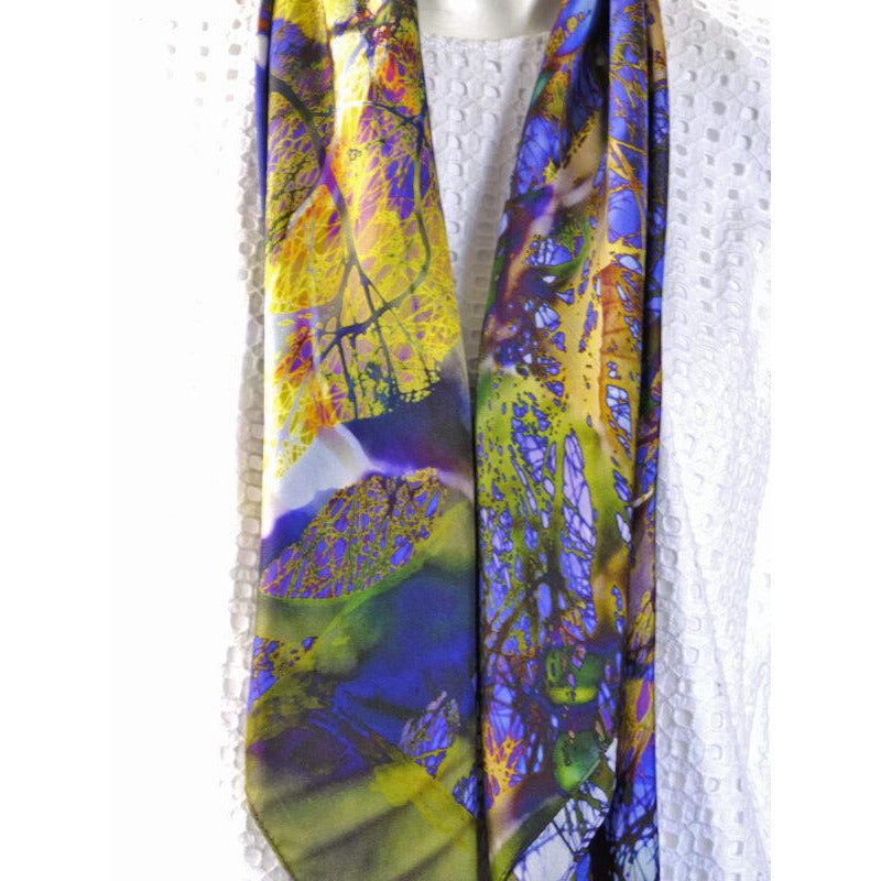 Silk Twill Scarf - Cloudehill Seasons