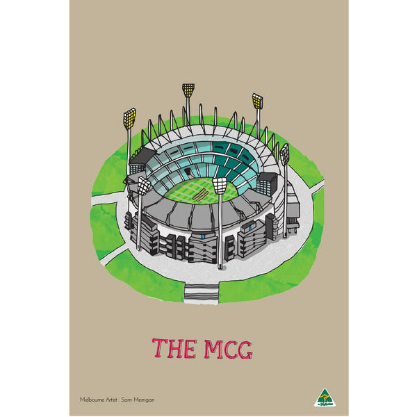 Tea Towel MCG